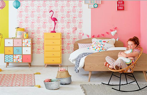 L\'association des couleurs (Maison Du Monde) | Kid\'s room ...