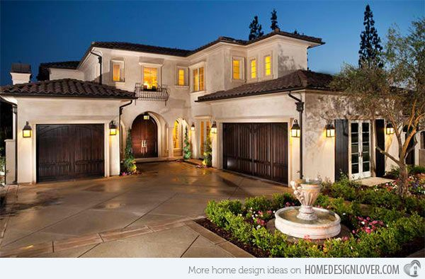 15 Sophisticated And Classy Mediterranean House Designs | Exterior