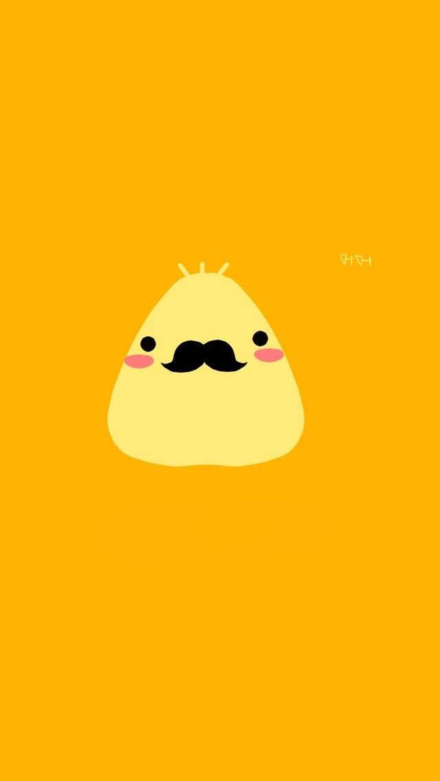 friggin cute mustache wallpapers for iphone!