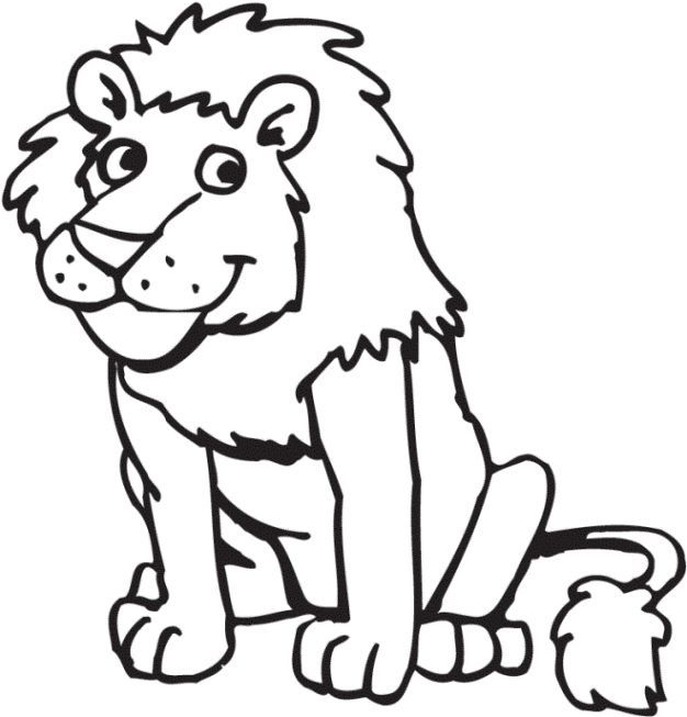 Lion Coloring Web Page Coloring Pages For Youngsters Ausmalbild Lowe Ausmalbilder Ausmalbilder Kinder