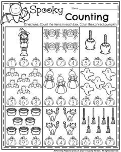 October Preschool Worksheets  Worksheets Math And Kindergarten