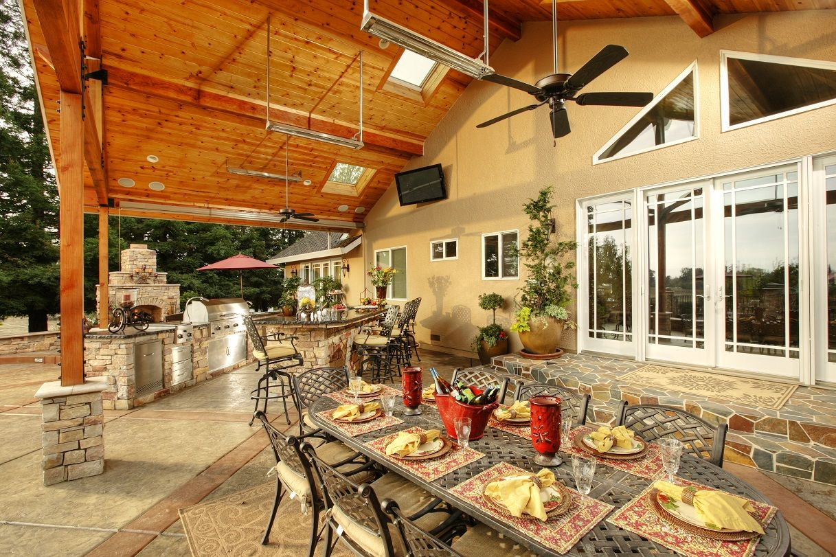 Galaxy Outdoor Is The Nation S Premier Designer And Builder Of Custom Outdoor Kitchens They Manufac Outdoor Living Outdoor Living Space Outdoor Kitchen Island