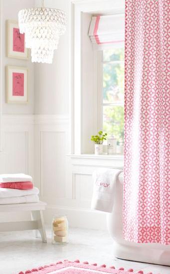 Beau Little Girls Bathroom