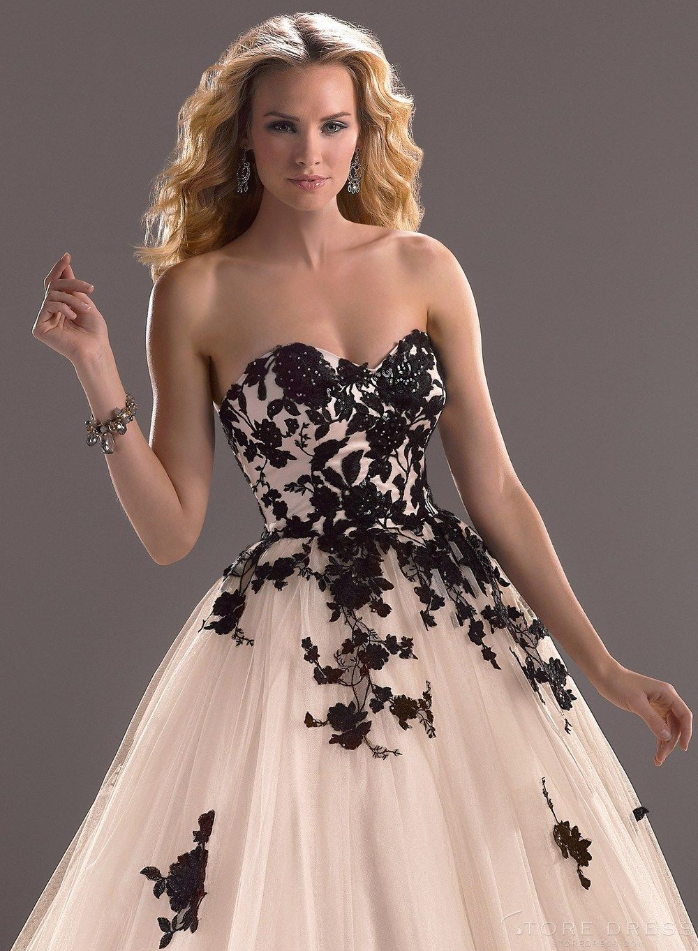 Ideas White And Black Lace Wedding Dress online buy