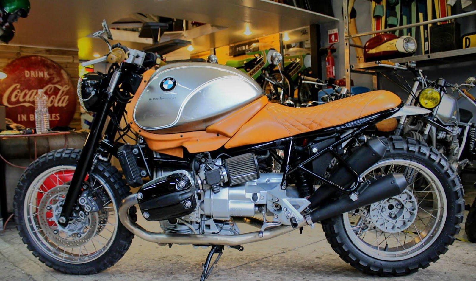"ottonero cafe racer: ""siver one"" 