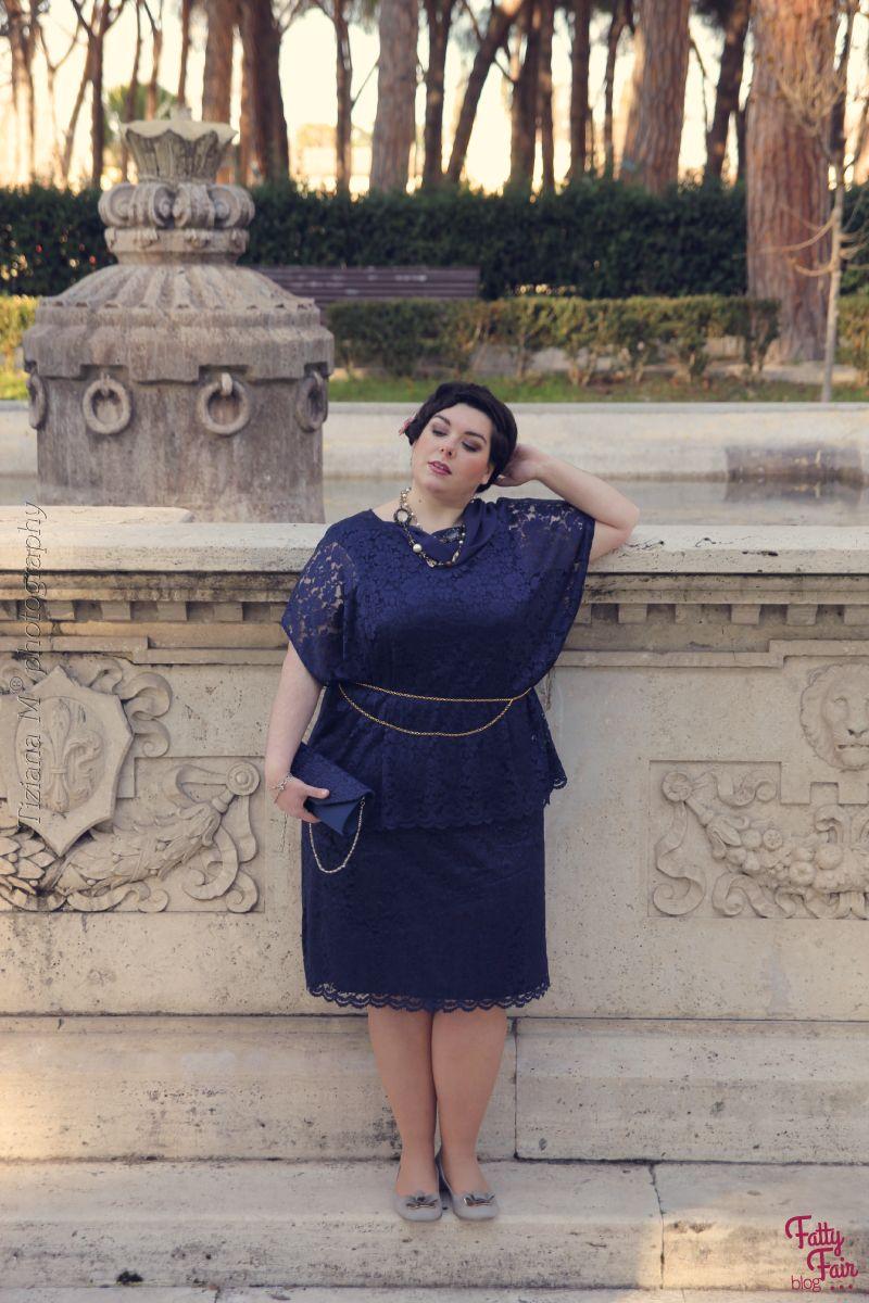 huge discount 16403 629a6 Vestito da cerimonia taglie forti: outfit e consigli per ...