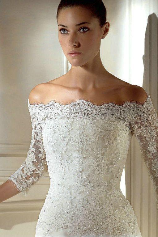 17 best images about wedding dress idea on pinterest lace sleeve ...