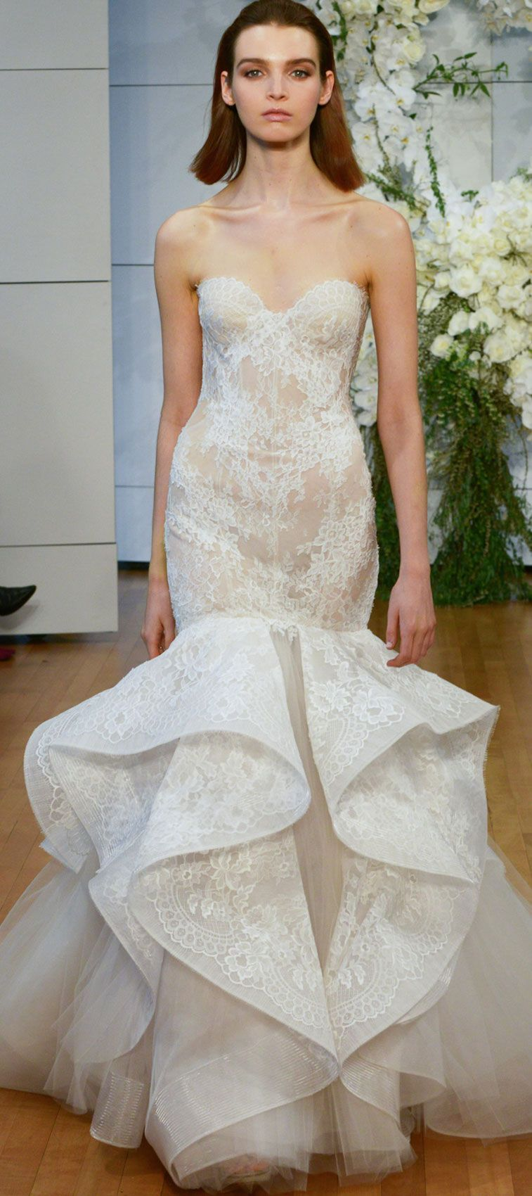 Monique Lhuillier Spring 2018 Wedding Dresses - Fabmood | Wedding ...