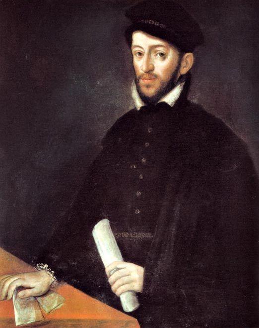 Retrato de Antonio Pérez, ex secretario de Felipe II