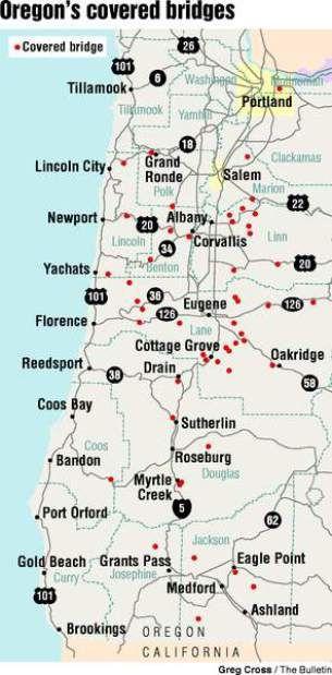 Slide Shows Covered Bridges Oregon Road Trip Oregon Weather