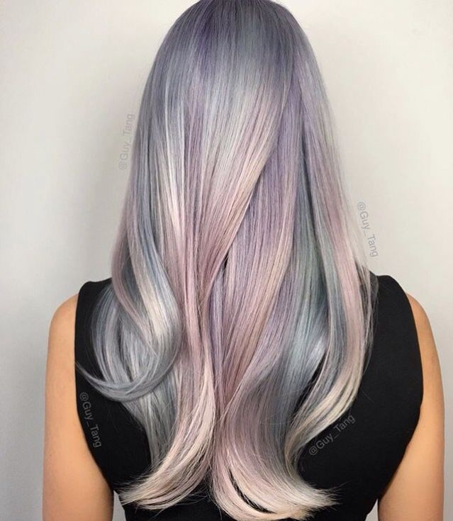 Opal Hair Color Mother Of Pearl Guy Tang Hair Color And Cuts
