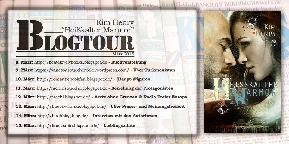 "BeatesLovelyBooks : [Blogtour] ""Heißkalter Marmor Blogtour"" von Kim He..."