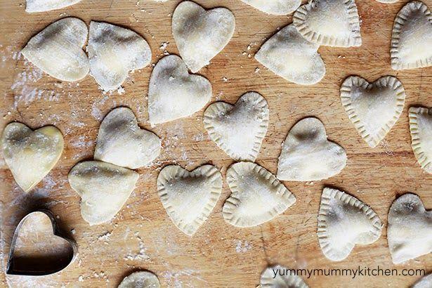 Easy Homemade Ravioli | Yummy Mummy Kitchen | A Vibrant Vegetarian Blog