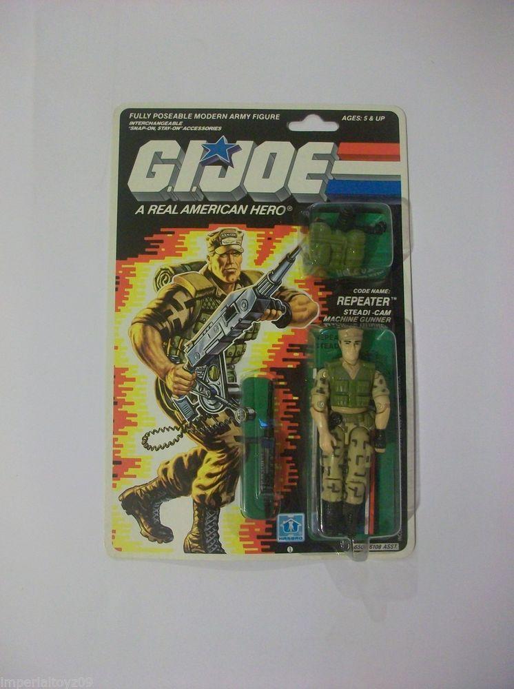 G I JOE Accessory  1988 Repeater           Pack