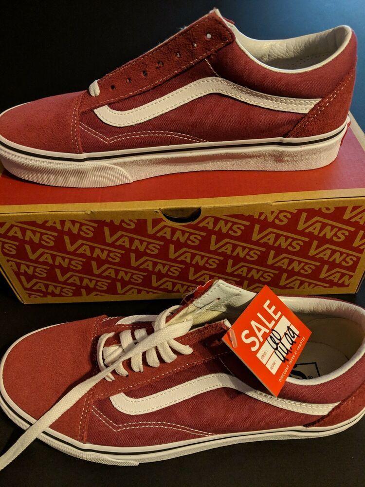 eBay link) Vans Old Skool Classic Skate Shoe Men 8 Maroon