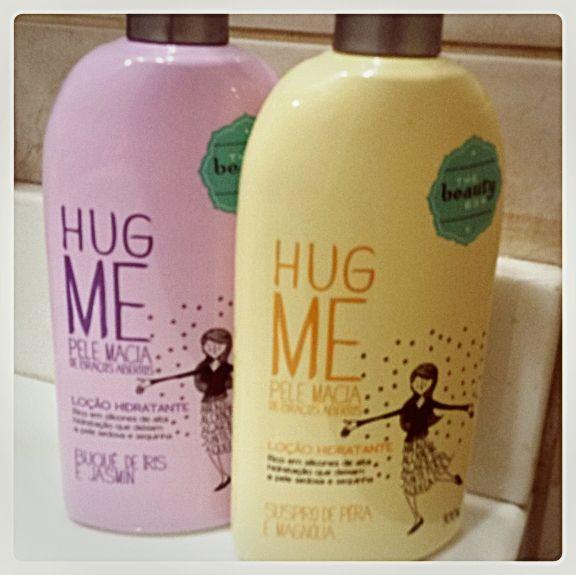 Locao Hidratante Hug Me Da The Beauty In Box Locao Hidratante