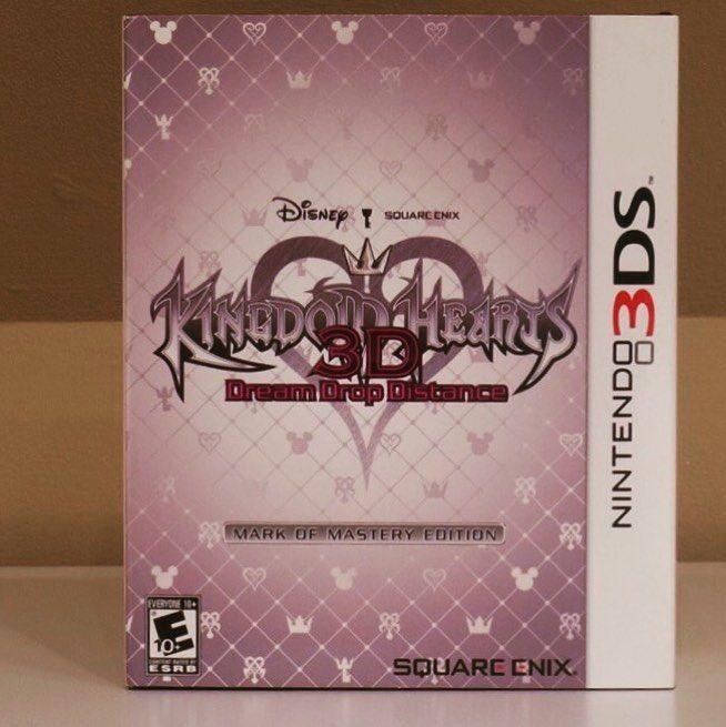 Kingdom Hearts 3D Mark of Mastery Edition.  Wenn ihr mögt checkt meinen YT-Kanal:https://goo.gl/ki9uZz #RetroGaming #Retro#VideoGame #Game #Gaming #VideoGameNerd #Nerdy #maniac79posts