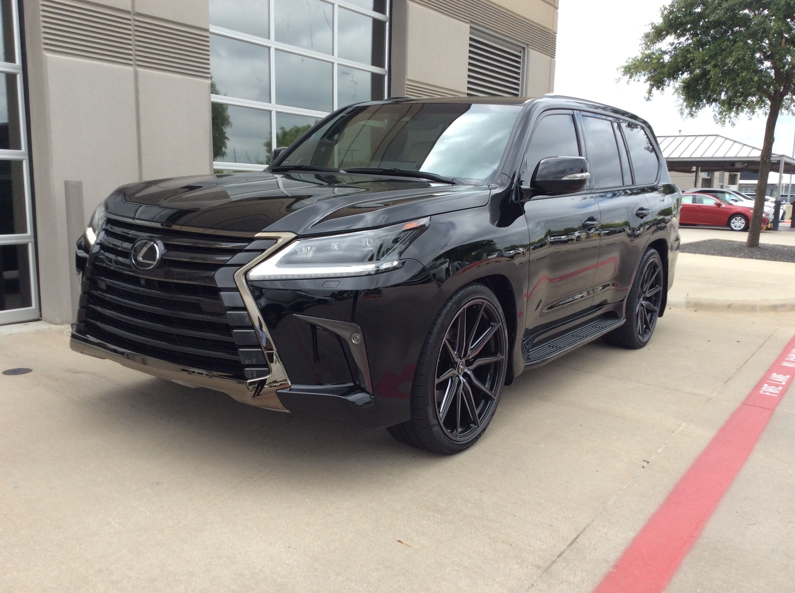 2019 Lexus Lx570 Inspiration Edition With 24 Double Tinted