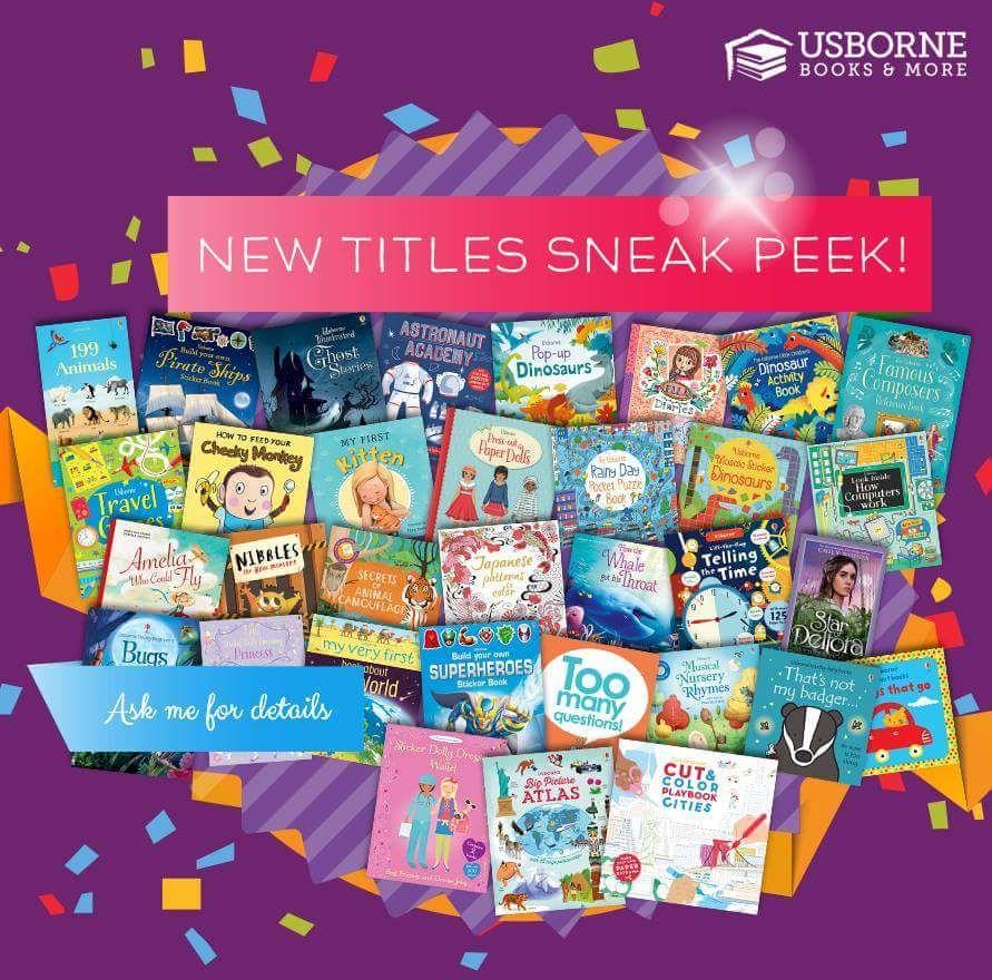 New titles sneak peek literacy usborne usborne books