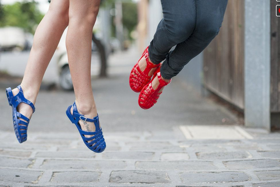 Jelly Beans Shoes Red Blue