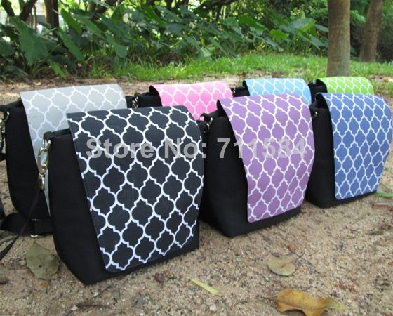 Aliexpress.com : Buy Free Shipping by FedEx,Monogramable And High Quality Quatrefoil Camera Crossbody Bag With Padded Material For The Main Body from Reliable Crossbody Bags suppliers on DOMIL WHOLESALE ONLINE