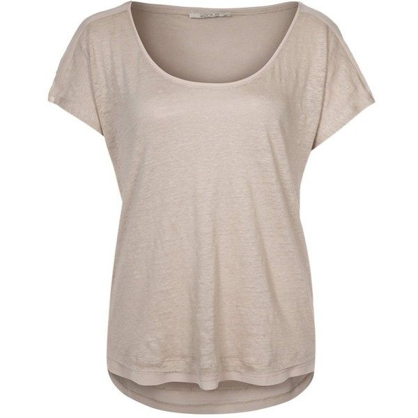 9590a73da69485 Kookai Basic Tshirt ( 45) ❤ liked on Polyvore featuring tops