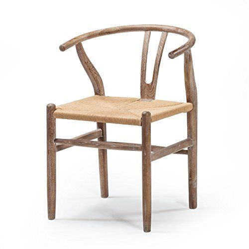 Design Tree Home Wishbone Dining Side Chair - Distressed ...