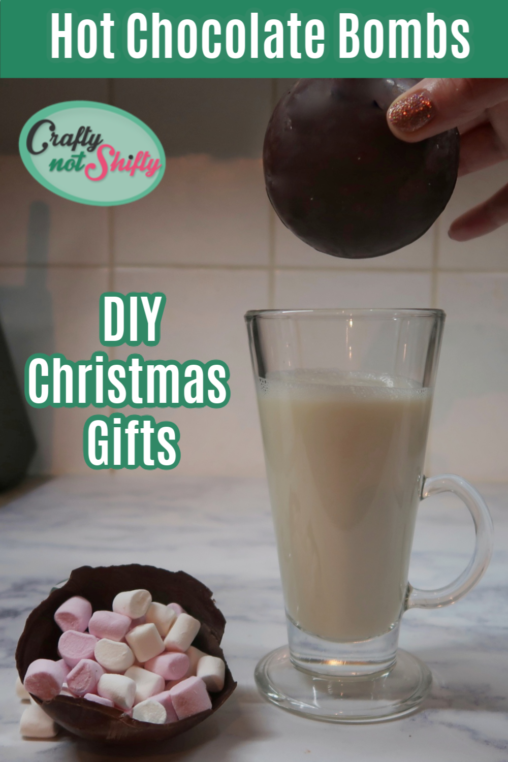 Crafty Not Shifty Blog Diy hot chocolate, Chocolate bomb