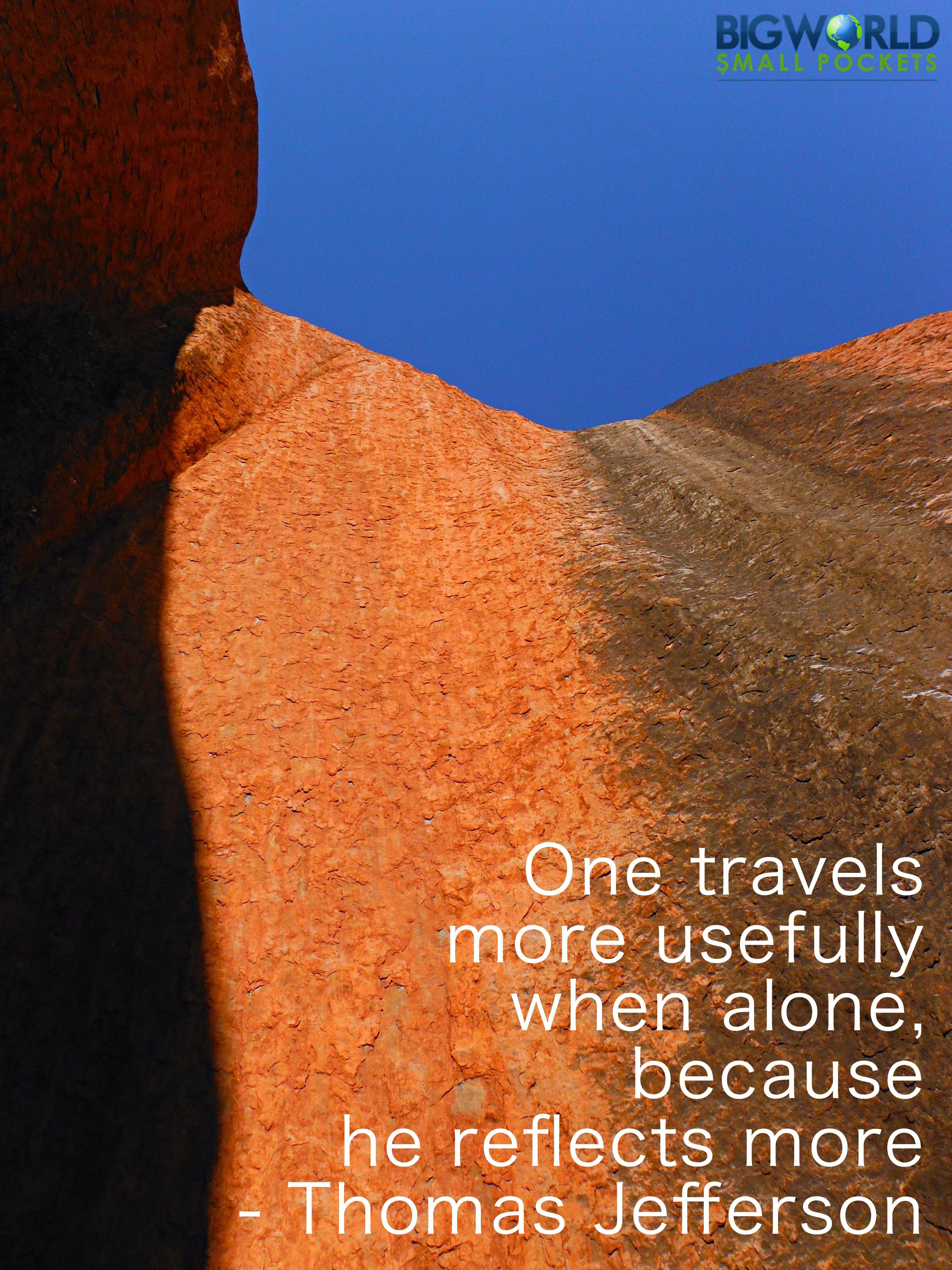 12 reasons to travel alone