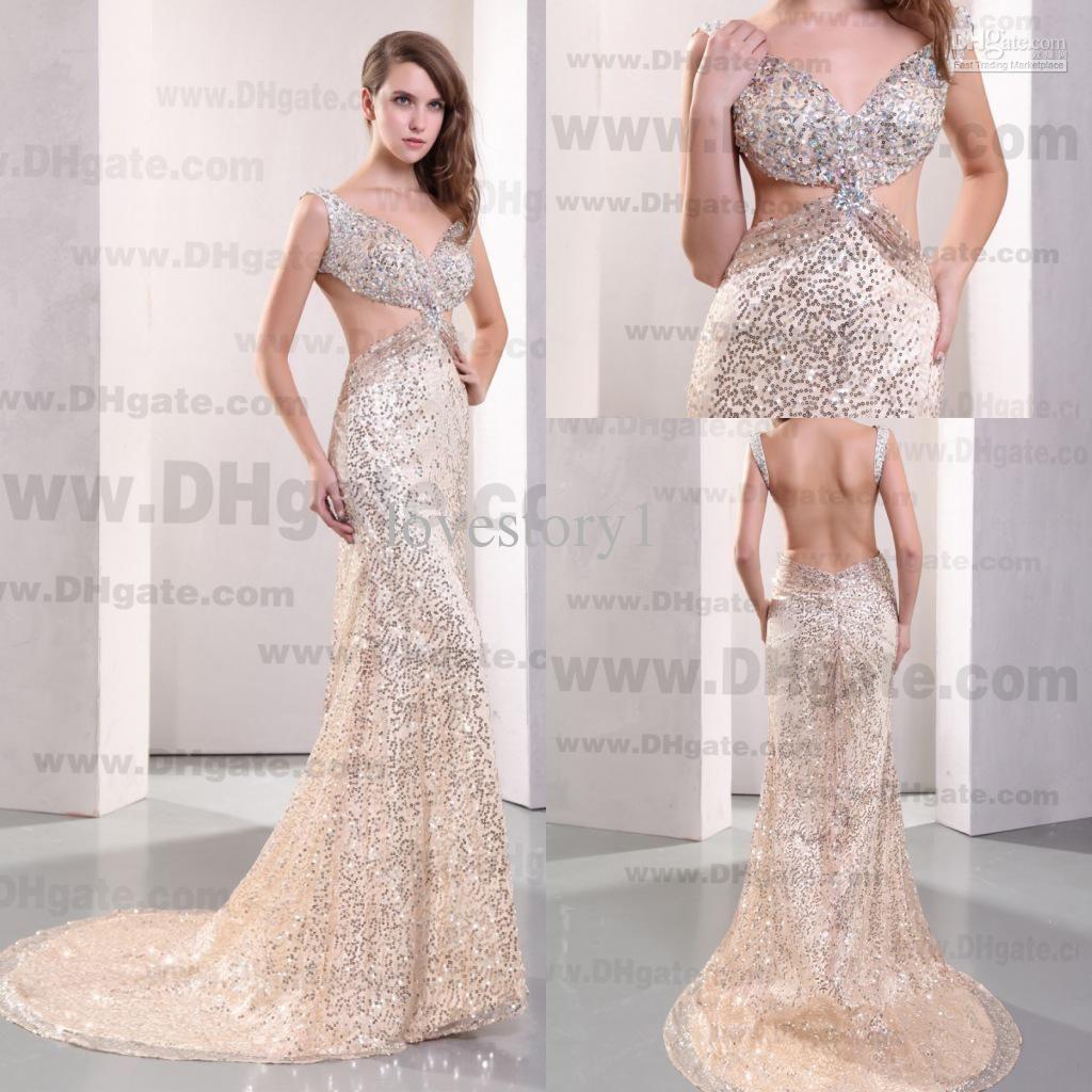 Evening Dresses With Rhinestones