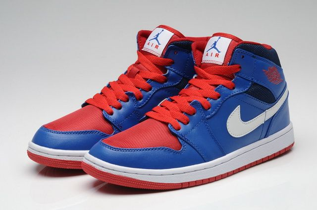 2965a9ab17ec ... greece nike air jordan 1 retro red blue white shoes c3fb5 03b8a