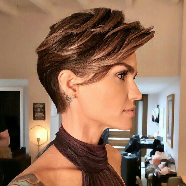 Pin By Ирина Рахматулина On Ruby Rose Pinterest Ruby Rose - Undercut hairstyle ruby rose
