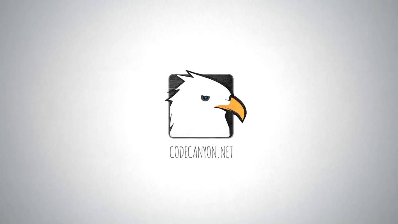 Hand Drawn In Pencil Logo After Effects Template | Places to Visit