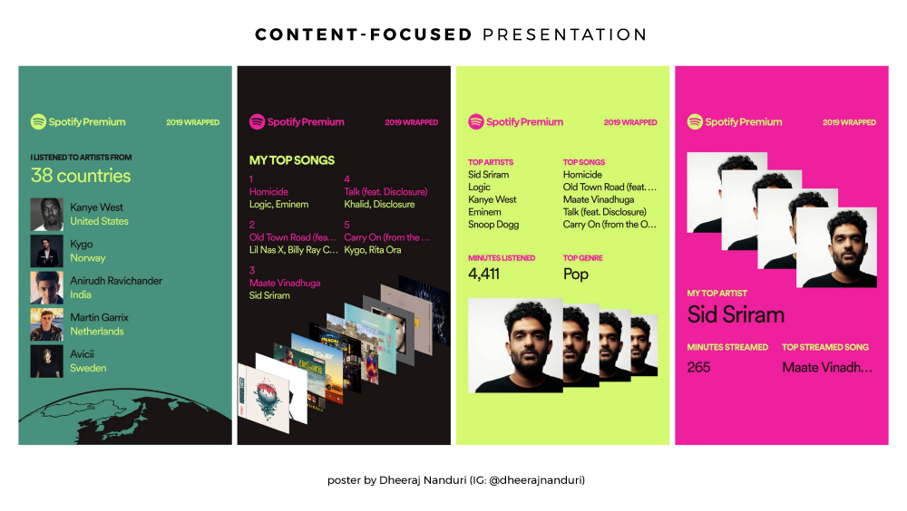 Spotify 2019 Wrapped — a design masterstroke in 2020