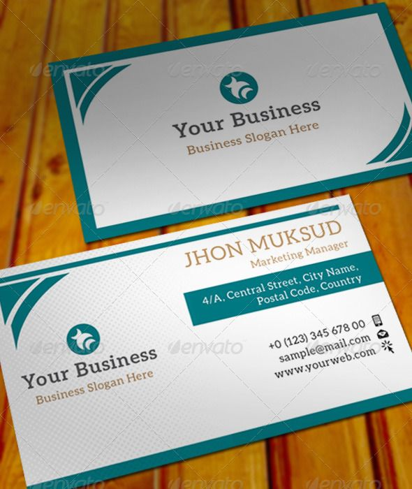 Clear Business Card 002 #GraphicRiver It is very simple designed - name card format