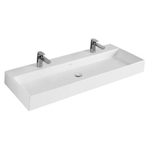 Fantastisch V&B Villeroy und Boch Memento Doppel Waschtisch Waschbecken 100 cm  GA55