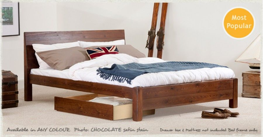 chelsea bed wooden bed frameswooden - Wooden Bed Frame