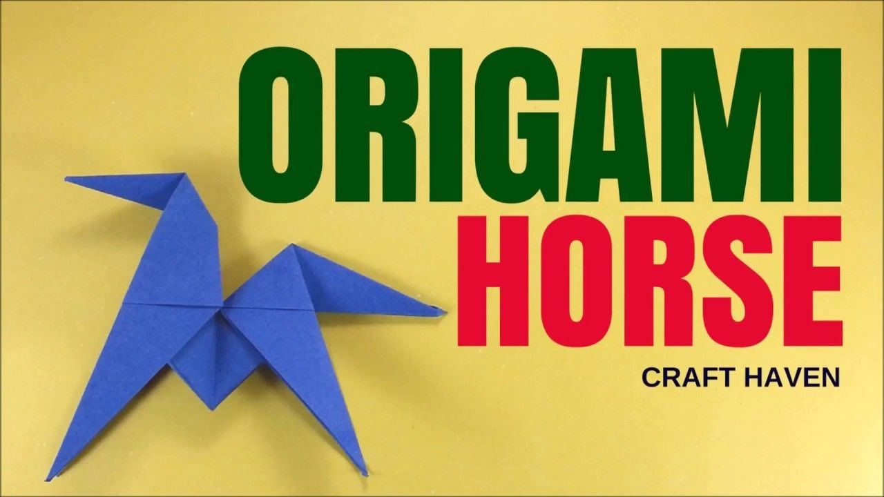 Fun And Easy Origami Horse