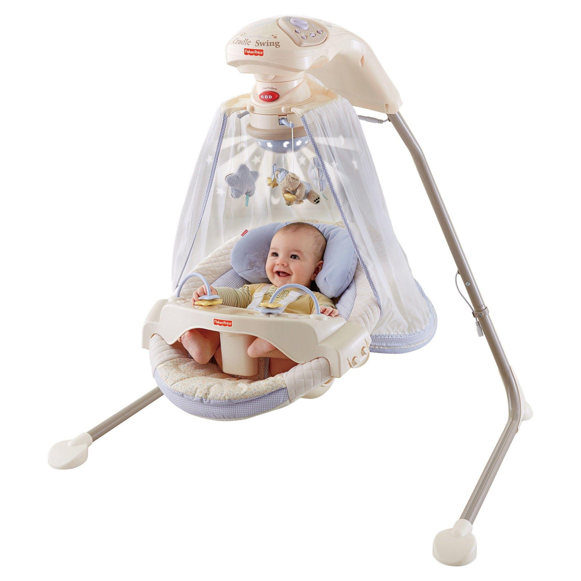 ac1e81c3ca6 Fisher-Price Starlight Papasan Cradle Swing