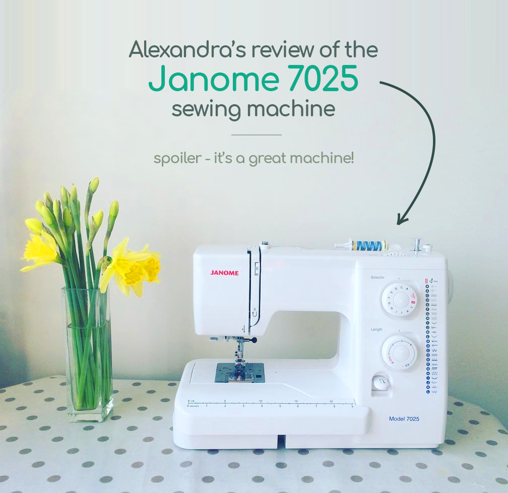 Everything You Need To Know About The Janome 7025 Sewing Machines