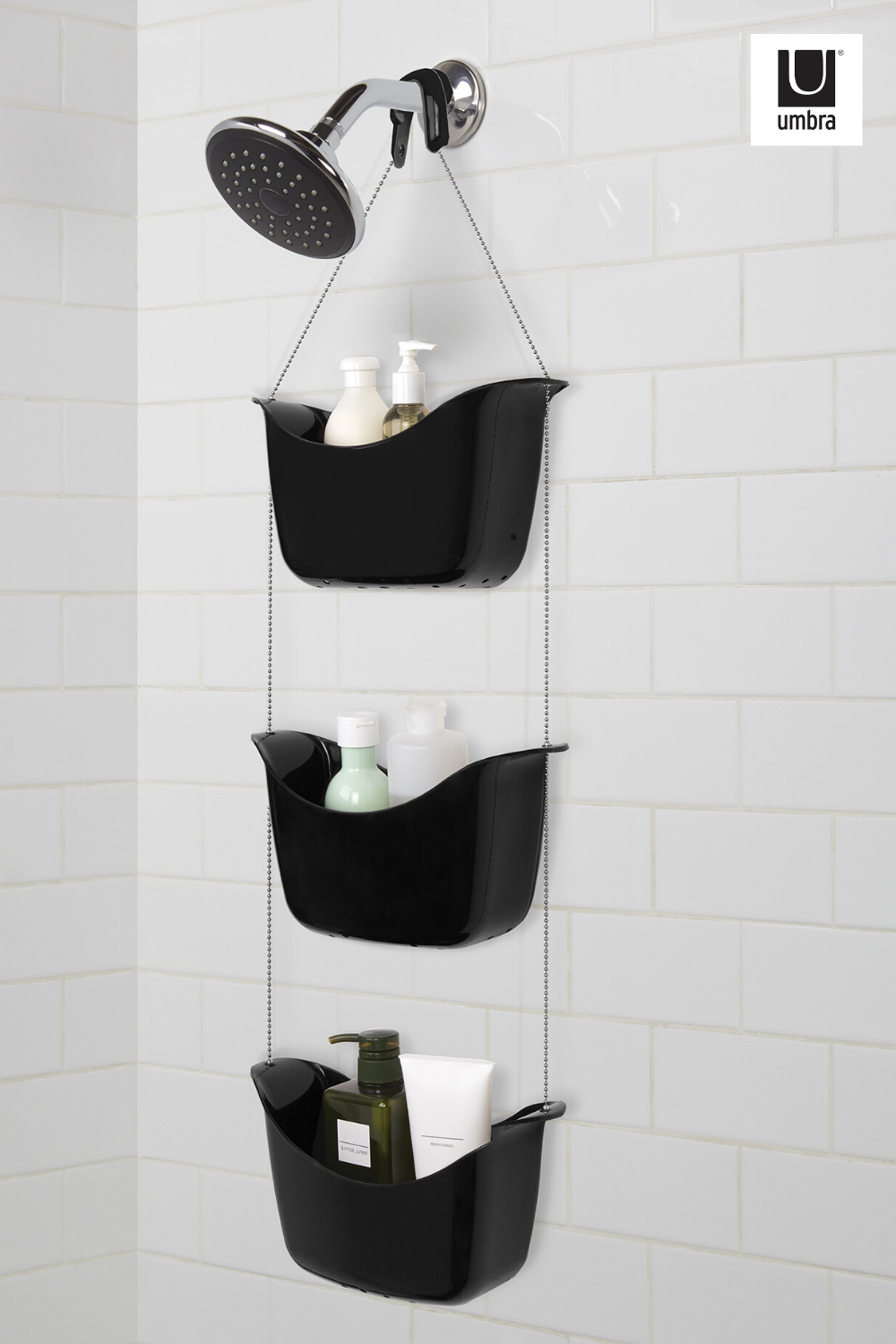 Bask Shower Caddy In 2020 Shower Caddy Shower Curtain Rods