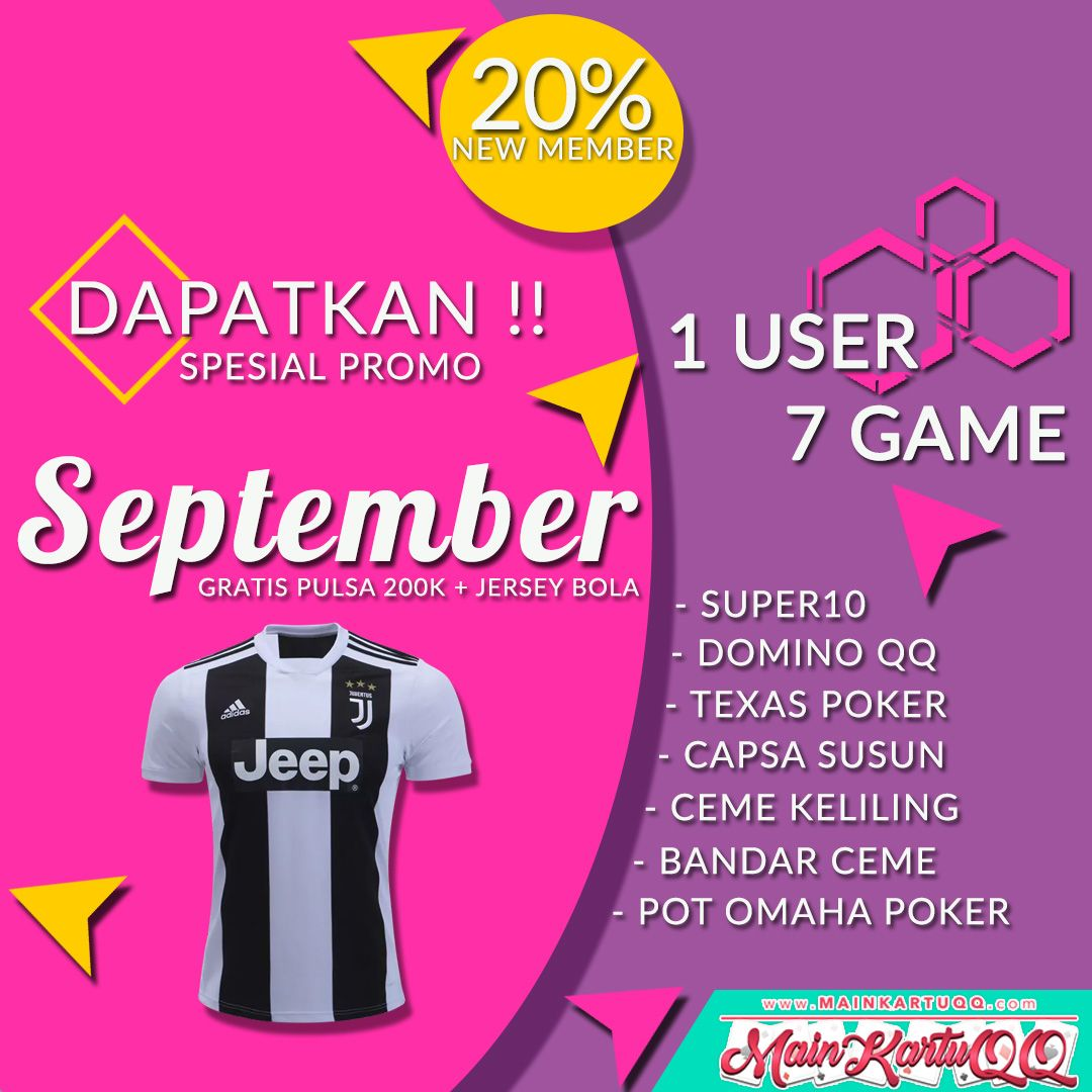 Spesial Promo September Cerita Bersama Mainkartuqq Com Bonus Jersey
