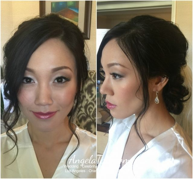 Asian Bridal Makeup And Hair By Angelatam Com Angelatam Angela