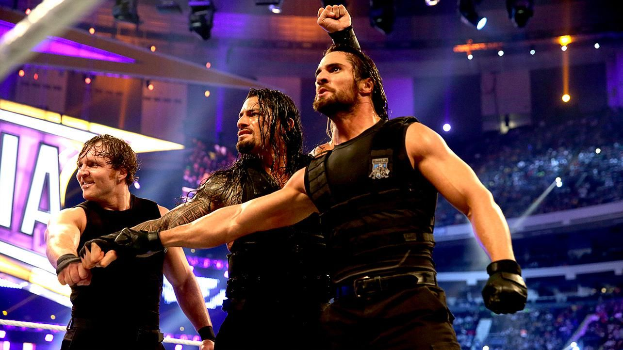 The Shield Vs Kane Amp The New Age Outlaws Photos