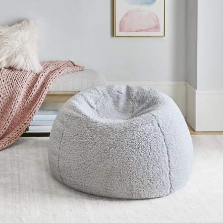 Home Essence Apartment Berber Bean Bag With Removable Cover Bean Bag Chair Small Bean Bag Chairs Outdoor Bean Bag Chair