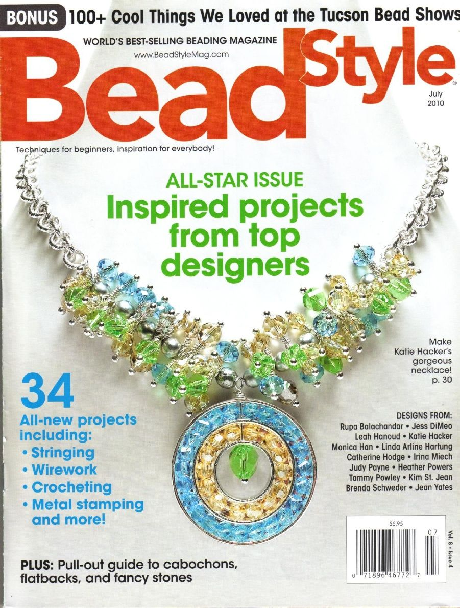 Bead Style July 2010 | Free Downloadable Bead Jewelry Making ...