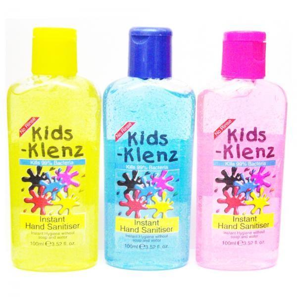 Pure Klenz Kids Hand Sanitiser 100ml Pure Klenz Kids Hand