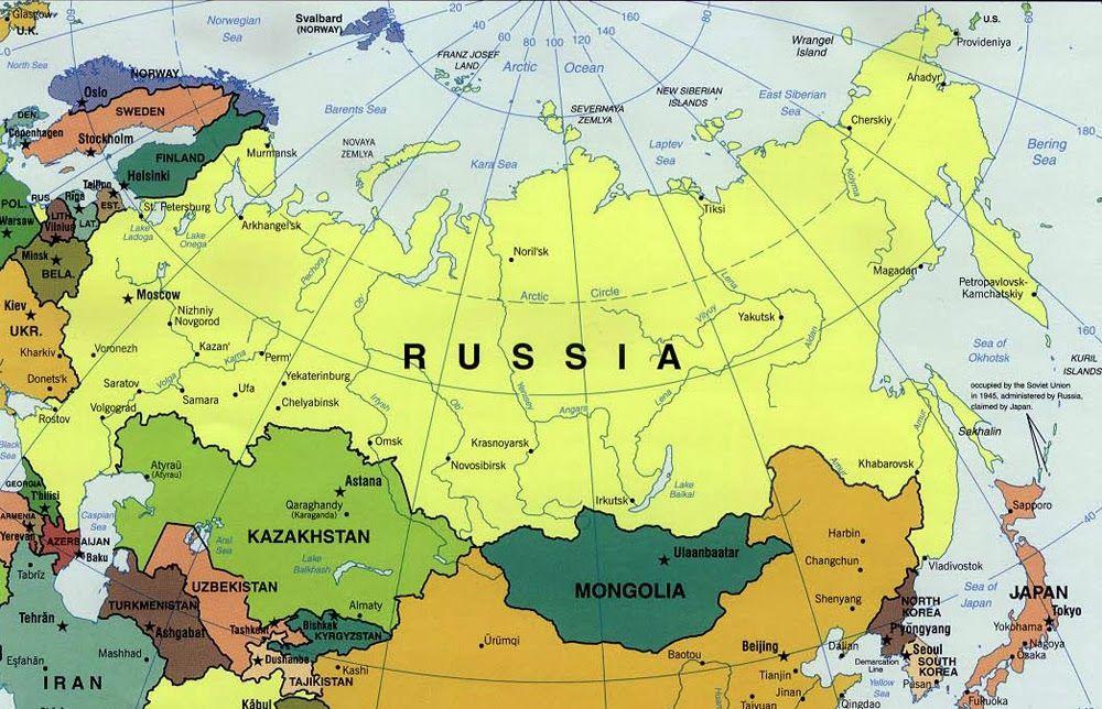 russia mapa Rusia Politico Mapa. (1000×644) | FCB | Pinterest | Geography  russia mapa
