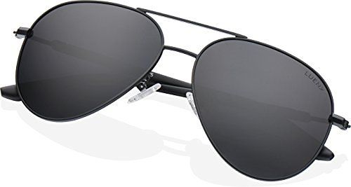 a195864076 LUENX Aviator Polarized Sunglasses Mens Womens with Glasses Case UV 400  Protection Colors Mirror 58mm This is a top choice among the top items sold  online ...