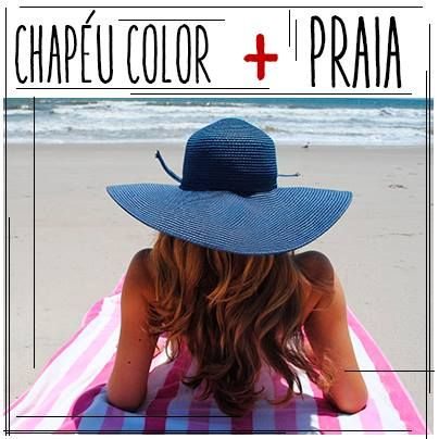 Chapéu Color + Praia